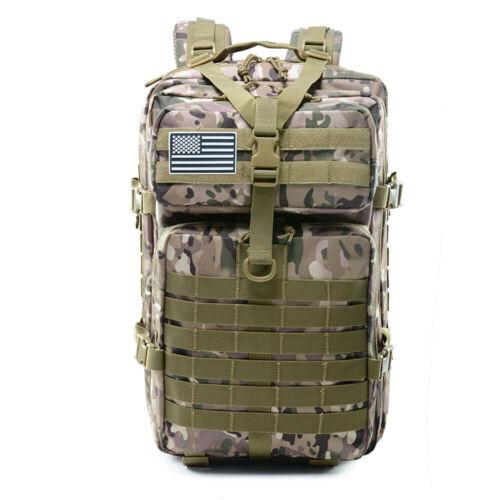 Camping Trekking Hiking Backpacks Tactical Military Travel Bag outdoor Rucksack