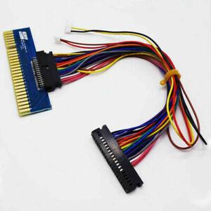 Nouveau Fil Convert to JAMMA s'appliquent à plateau de jeu arcade machine 40P à 28P Fil