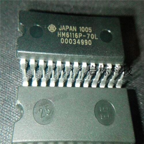 10 Stücke Allzweck HM6116P-70 HM6116P DIP24 Statische Ram HM6116P-70L nc