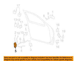 gm oem front door door lock kit 15110643 ebay rh ebay com
