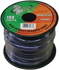 Pyramid-RSW20100-Speaker-Wire-20-Ga-100-Ft-Purple