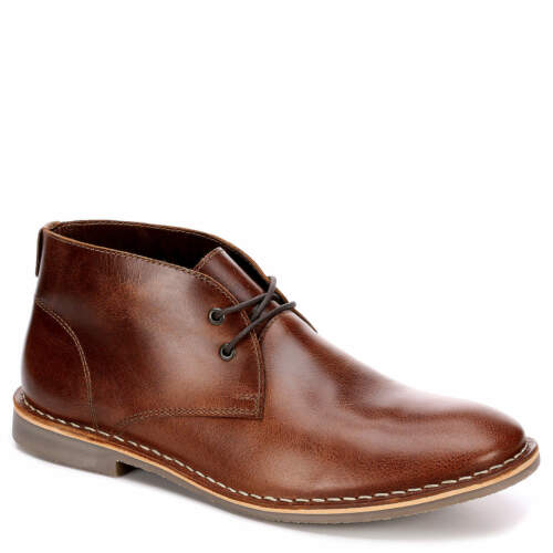 Franco Fortini Mens Dade Leather Chukka Boot Shoes US 13 Brown