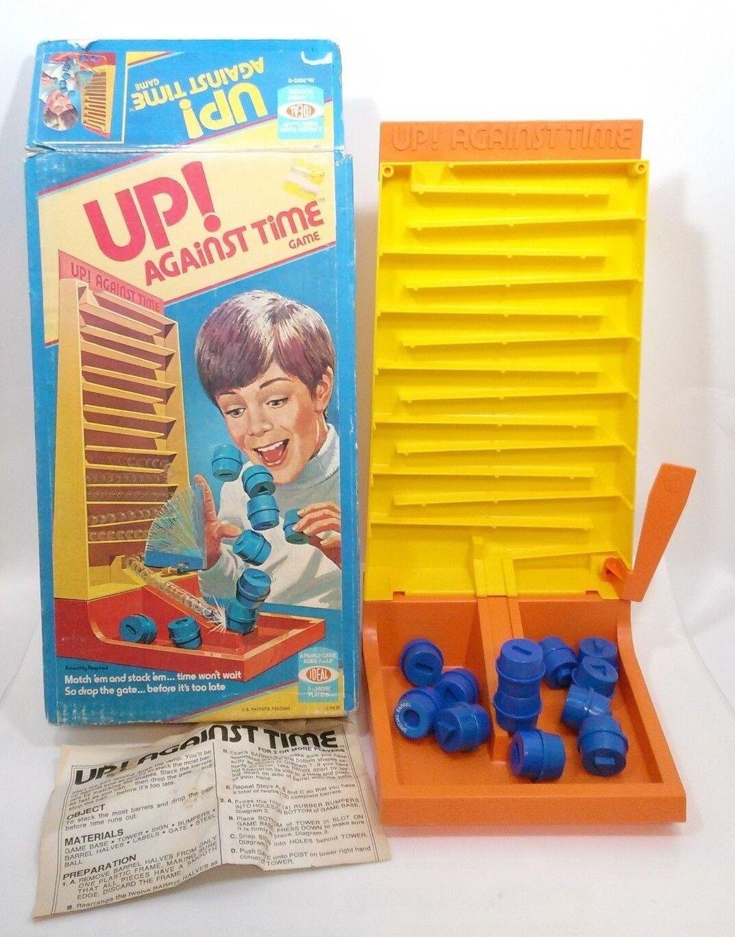 primera vez respuesta Vintage 1977 contra el tiempo juego.. Ideal Ideal Ideal Juguetes  suministro directo de los fabricantes