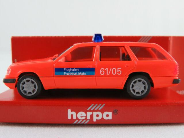 "Herpa 043595 MB 300 TE (1996) ""Flughafen FFM / Feuerwehr ELW"" 1:87/H0 NEU/OVP"