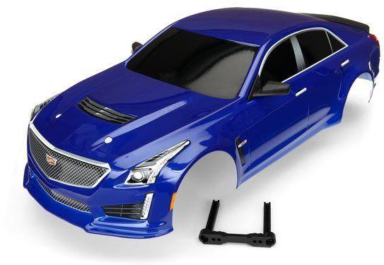 Traxxas - Cadillac CTS-V Body (bluee)