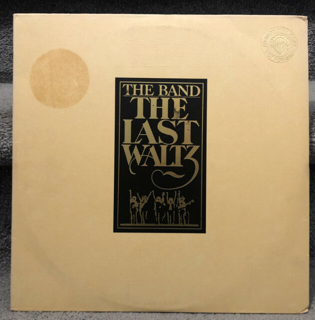 THE BAND The Last Waltz 3 LPs Booklet Promo Copy 1978
