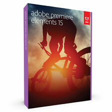 Adobe Premiere Elements 15 Windows Mac in Retail Box Brand NEW - Free Shipping!