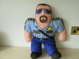 BOSS-MAN-Vintage-Tonka-WWF-Wrestling-Buddy-Plush-Toy-Pillow