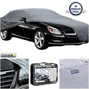 Ice & Snow Protection Breathable Car Cover to fit Jaguar S-Type Dirt Sun Sumex Rain