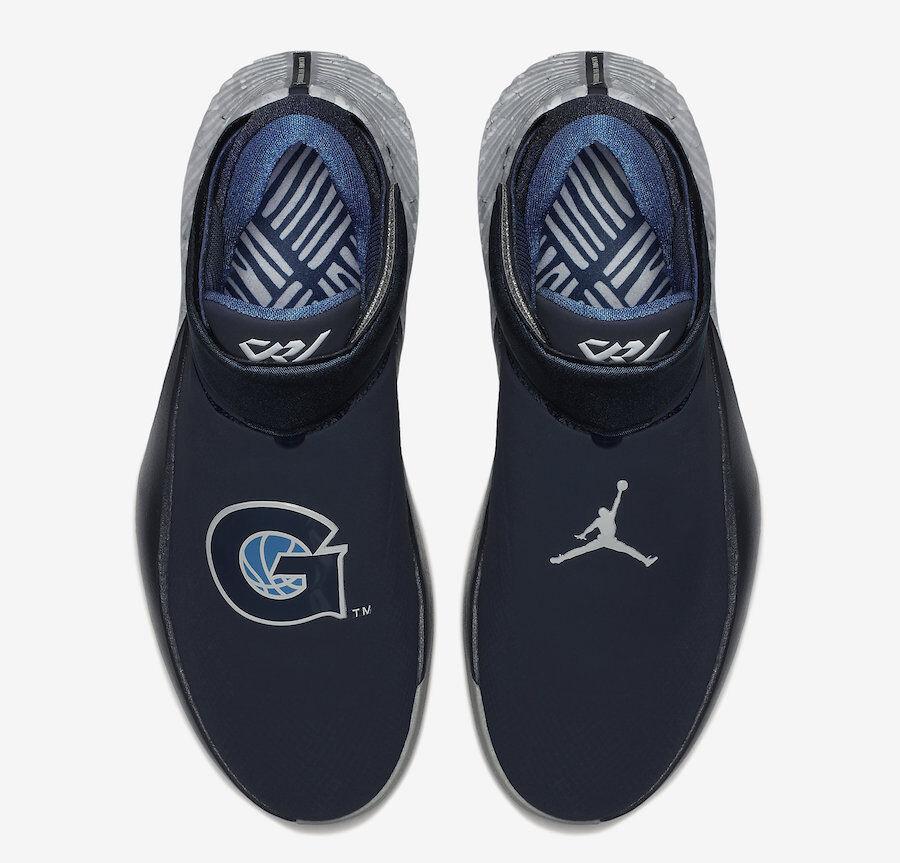 Nike jordan perch non zero zer0.1 georgetown hoyas westbrook zero non Uomo. 20ee5b