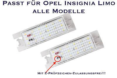 Smd Led Illuminazione Targa Opel Insignia Berlina A Tutti I Modelli (xl)-euchtung Opel Insignia Limo A Alle Modelle (xl) It-it