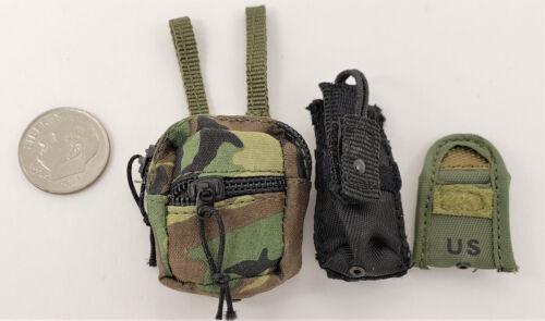 Damtoys Navy Seal riverine OPS Carabinier 3 Pochette Lot 1//6 TOYS soldat Joe Alerte