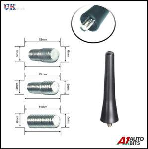 Coche antena techo m/ástil de antena Antena 14/cm con /& M5/M6/Conector
