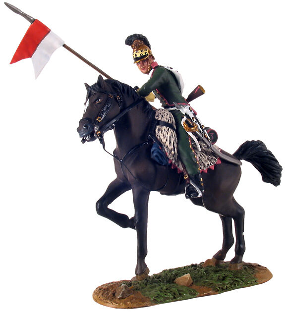 BRITAINS SOLDIERS 36069 - French 3rd Lancers Trooper on Rearing Horse No.1