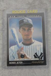 Details About 1993 Score Pinnacle Derek Jeter Rookie Card 457
