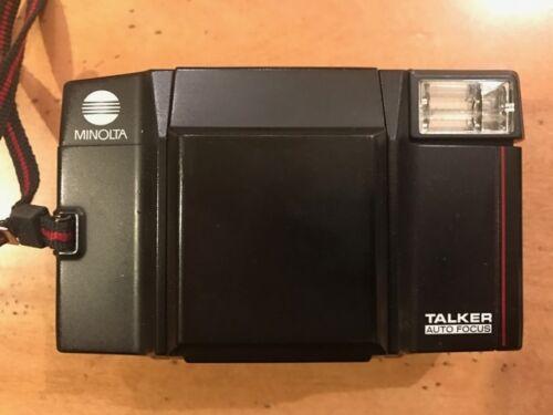 Vintage Minolta Talker Auto Focus 35mm Camera