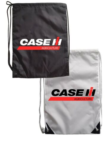 CASE HI DRAWSTRING CASE  AGRICULTURE TRACTOR DRIVER GYM SCHOOL KIDS SPORTSDAY