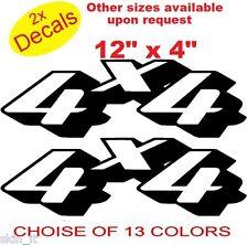 4x4 Vinyl Sticker Decal Graphics x2 (Design 9)13 colors to choose Ref No 4x4 (2)