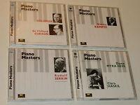 LOT 8 CD THE PIANO MASTERS solomon CURZON kempff SERKIN dame myra hess HASKIL