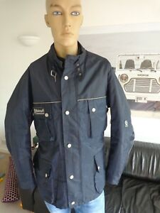 BELSTAFF-Roadmaster-Quilted-Jacket-for-Men-Size-XXL-45-034-Chest-VGC-Navy-Blue
