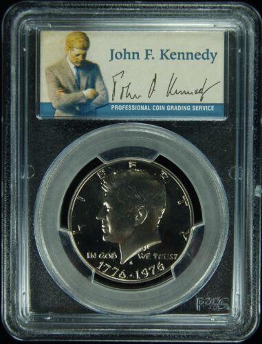 1976-S PCGS PR69DCAM Kennedy Half Dollar Presidential Dollar