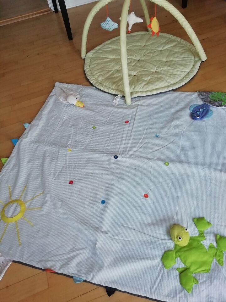 Aktivitetstæppe, To tæppe.r til samlet 30 kr, Ikea