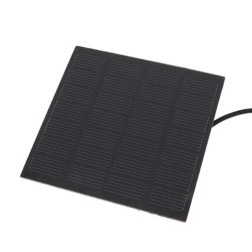 Magideal Solar Power Brunnen Tauch Wasserpumpe Garten Teich Kit Panel