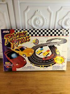 Artin Racing Rivals Firebird & Mustang Racing Slot Car Raceway 9 1/2 Ft.