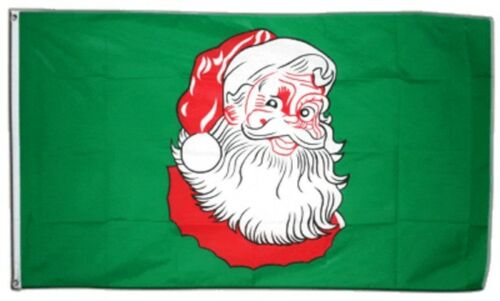 Bandiera Babbo Natale bandiera Natale hissflagge 90x150cm
