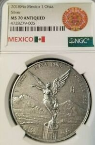2018-MEXICO-SILVER-LIBERTAD-1-ONZA-NGC-MS-70-ANTIQUED-BEAUTIFUL-PERFECTION