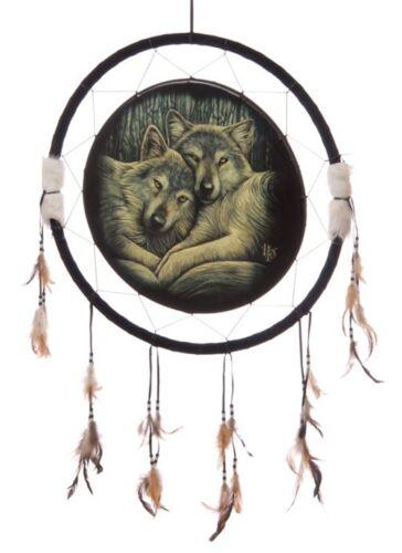Größen Indianer Deko Dreamcatcher wulf Feng Shui Traumfänger Wolf Wölfe versch