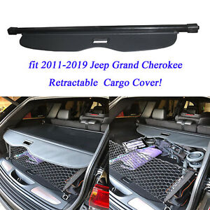 for Jeep Grand Cherokee 2011-2019 Trunk Blind Cargo Cover ...