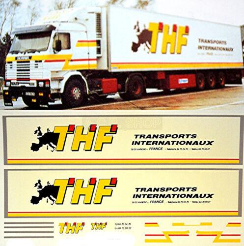 Scania THF Transports France 1:87 Truck Decal LKW Abziehbild