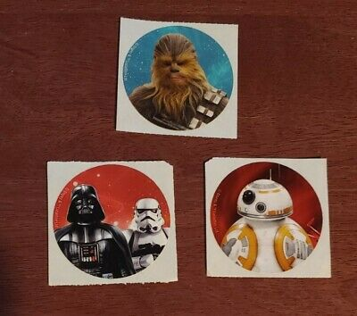 Chewbacca Lot of 2 Official Disney World Stickers Galaxy/'s Edge WDW