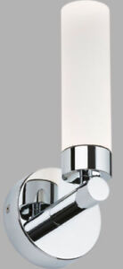 Led-3W-Chambre-Support-Mural-Lampe-Spot-Clair-IP44-Chrome-Blanc-Chaud-Ajustement