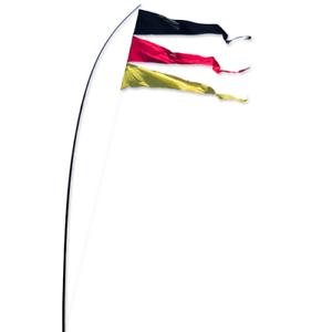 Fahnen UV-beständig//wetterfest Bogen Banner GERMANY Abmessung: 160x75cm
