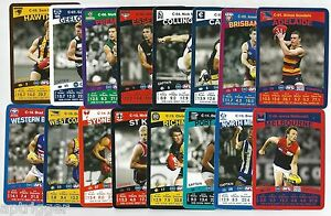 2010-Teamcoach-Full-Set-CAPTAIN-Cards