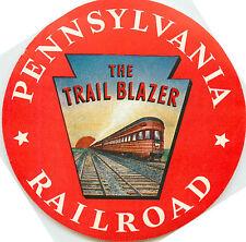 Chicago to New York ~The TRAIL BLAZER~ PENNSYLVANIA RAILROAD Luggage Label, 1940