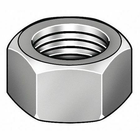 """Fabory U51081.062.0001 5//8/""""-11 Plain Finish 18-8 Stainless Steel Heavy Hex"""