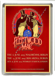 Details about Fleetwood Mac- In Concert 2019 - Fridge Magnet Large 90 mm x  60 mm