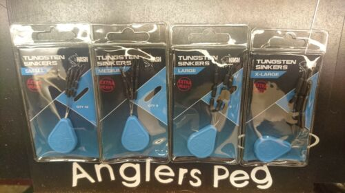 Nash Tungsten Sinkers