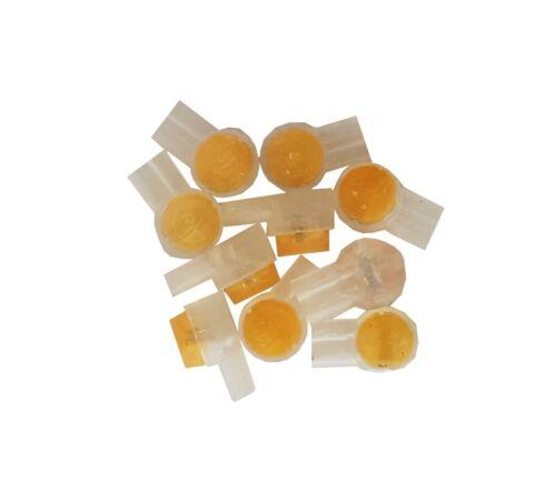 Spleißklemme Schwachstromverbinder 10 Stück gel-gefüllt