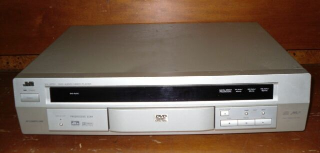 JVC XV-D723GD DVD Player Progressive Scan *TESTED & WORKING - READ DESCRIPTION*