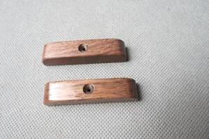 2pcs beautiful black walnut thumb rest for bass guitar thumbrest ebay. Black Bedroom Furniture Sets. Home Design Ideas