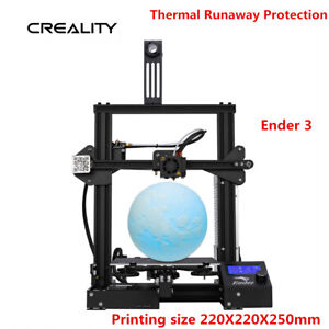 Details about Official Creality Ender 3 3D Printer Resume Print  220X220X250mm DC 24V 15A PLA