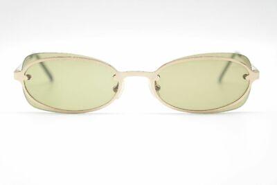 Ben Informato Eyce 40120-100 54 [] 15 Verde Oro Ovale Occhiali Da Sole Sunglasses Nuovo-mostra Il Titolo Originale Alta Qualità