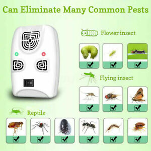 Electric Ultrasonic Wave Bed Bug Dust Mite Killer Repeller Cleaner Household S12 Ebay
