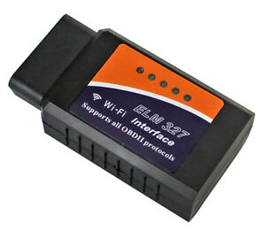 100% Vrai Wifi Elm327 Sans Fil Obd Obii Auto Voiture Diagnostic Scanner Pour Iphone Ipad Non Repassant