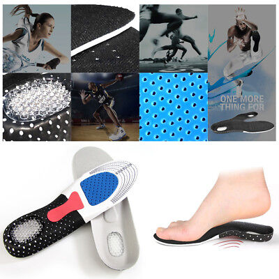 New Orthotic Arch Support Sport Running Gel Cushion Heel Shoe Insole Pad Insert