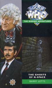 Dr-Doctor-Who-Missing-Adventures-Book-THE-GHOSTS-OF-N-SPACE-Mint-New